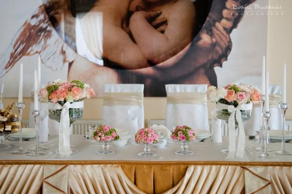 Dekoracja sal i stołów